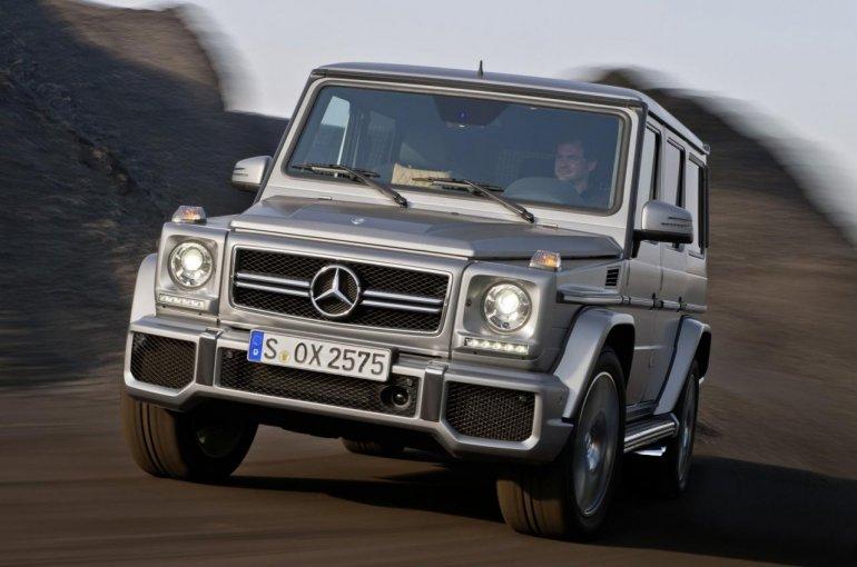 Mercedes G63 AMG front