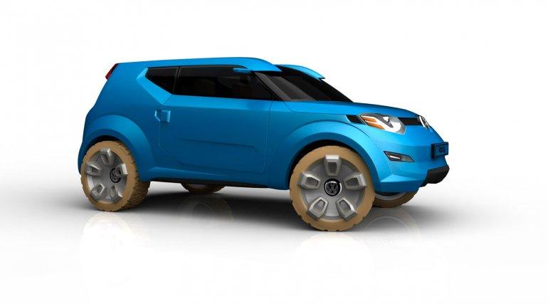 Volkswagen Rocky Concept front three quarters