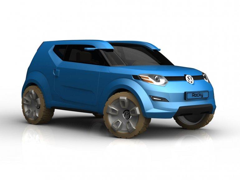 Volkswagen Rocky Concept front