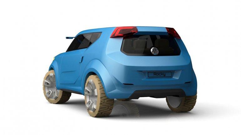Volkswagen Rocky Concept rear