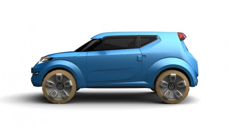 Volkswagen Rocky Concept side