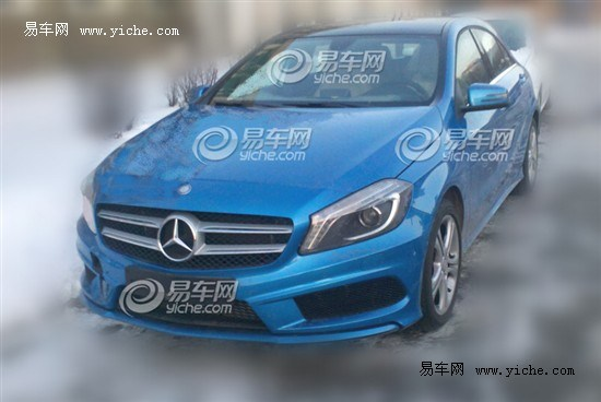 mercedes A Class china spyshot front