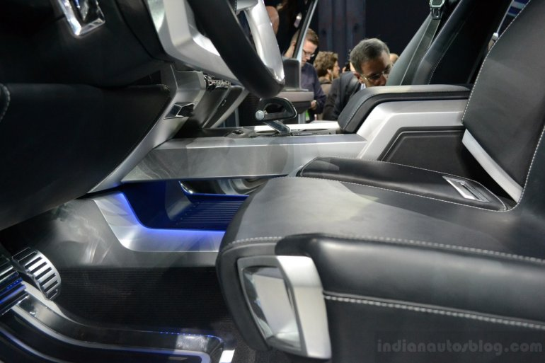 Ford Atlas Concept co-driver seat