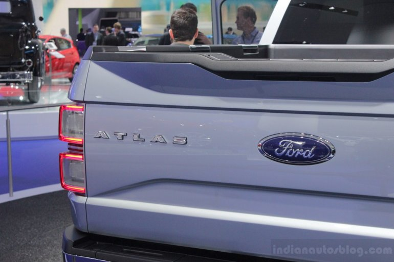Ford Atlas Concept load bay door