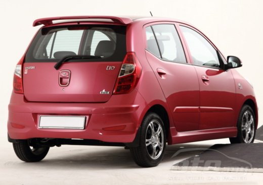 Hyundai i10 Colourz Edition rear
