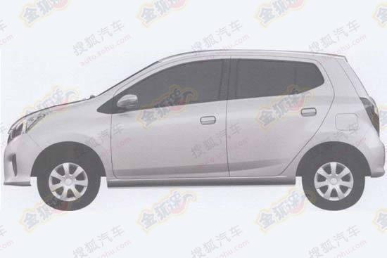 New Daihatsu Mira side