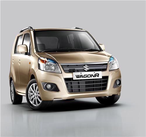 Maruti Wagon R facelift front view