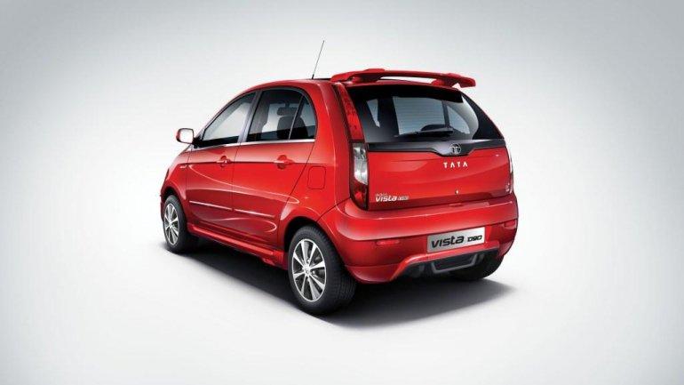 Tata Indica Vista D90 rear quarter