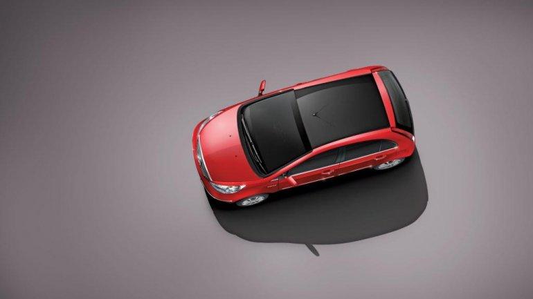 Tata Indica Vista D90 top