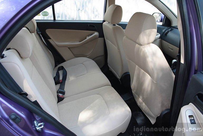 Tata Vista D90 rear seats