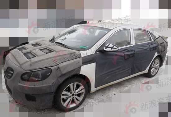 hyundai-mid-size-sedan-china-front quarter