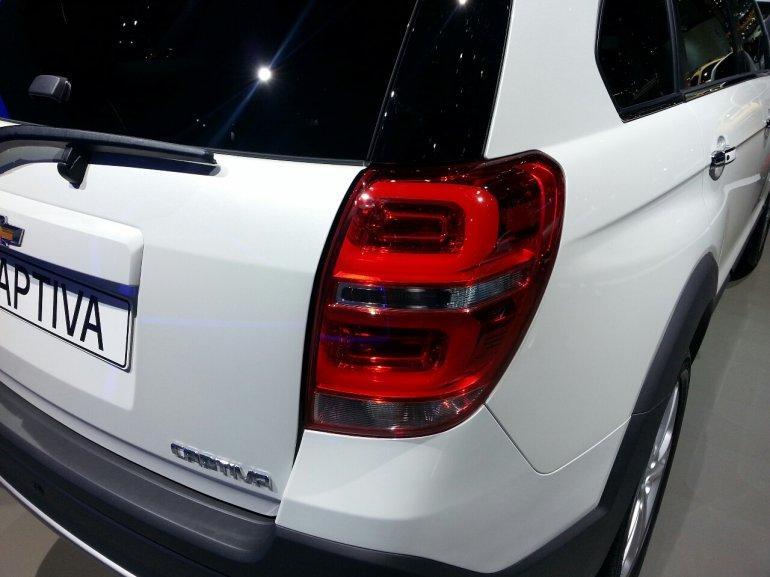 2013 Chevrolet Captiva facelift tail lamp