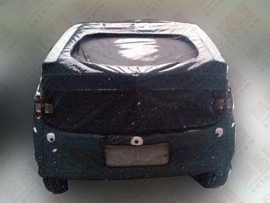 2014 Ssangyong Actyon facelift rear