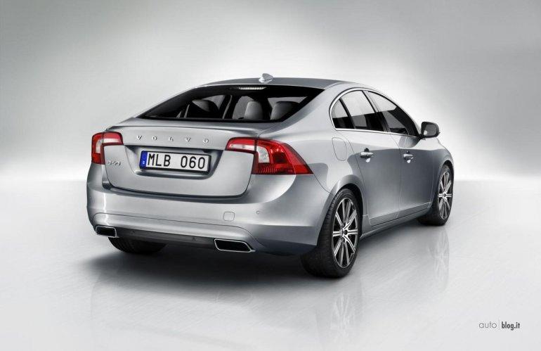 2014 Volvo V60 rear