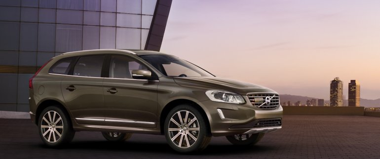 2014 Volvo XC60 facelift side view
