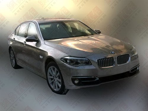 BMW 5 series LCI facelift front