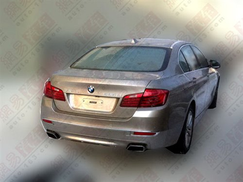 BMW 5 series LCI facelift rear