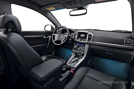 Chevrolet Captiva facelift Korean market interior
