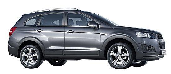 Chevrolet Captiva facelift Korean market side view