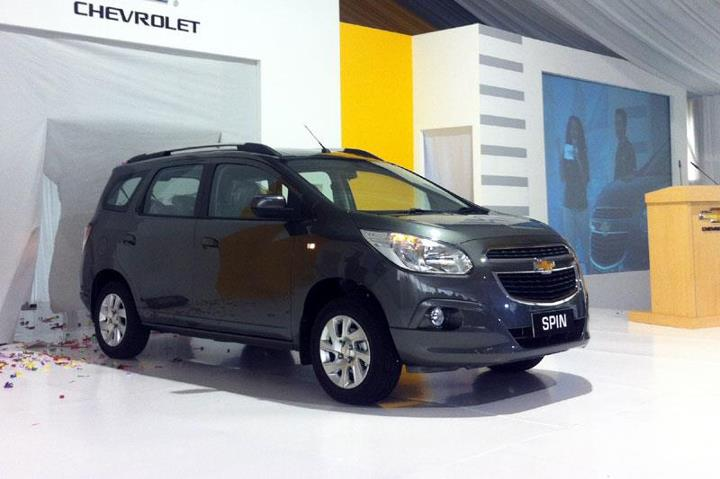 Chevrolet Spin Indonesia launched