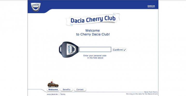 Dacia Duster Cherry Club