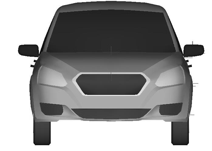 Datsun sedan russia patent leak front