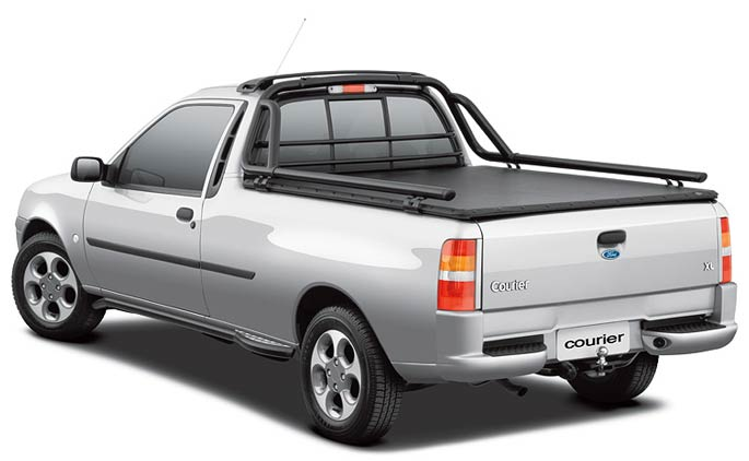 Ford Courier rear view