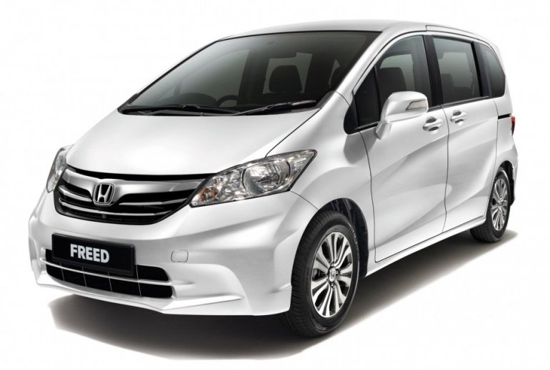 Honda Freed facelift front