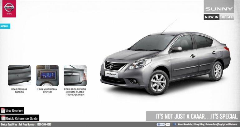 Nissan Sunny XV special edition