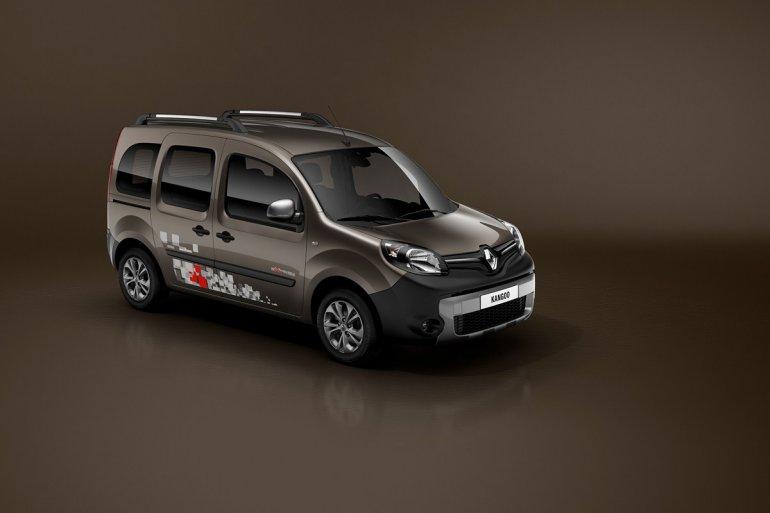 Renault Kangoo facelift front