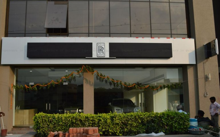 Rolls Royce Showroom Ahmedabad
