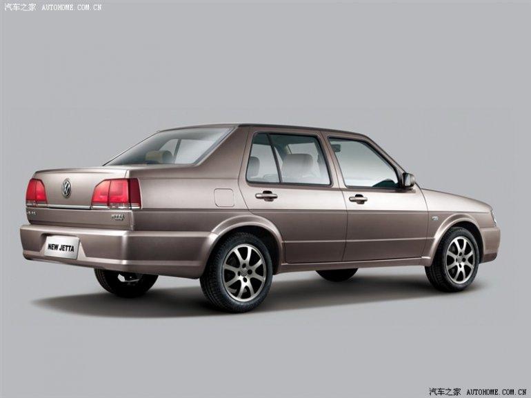 VW Jetta Mk2 China rear three quarter