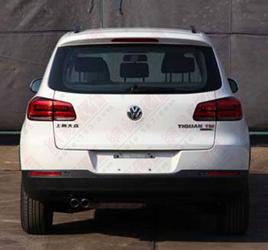 VW Tiguan faclift china rear