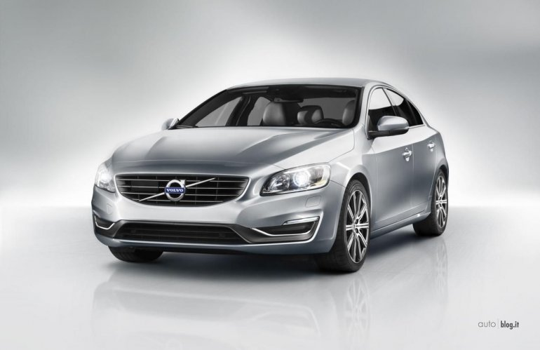 Volvo S60 facelift front
