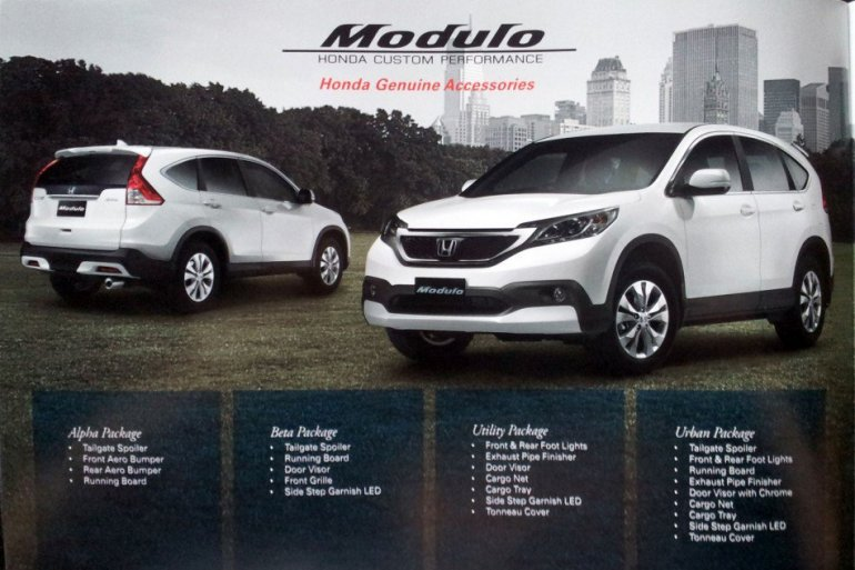 2012 Honda CR-V Modulo Kit