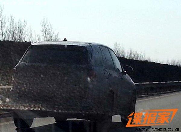 2014 BMW X5 spy china rear