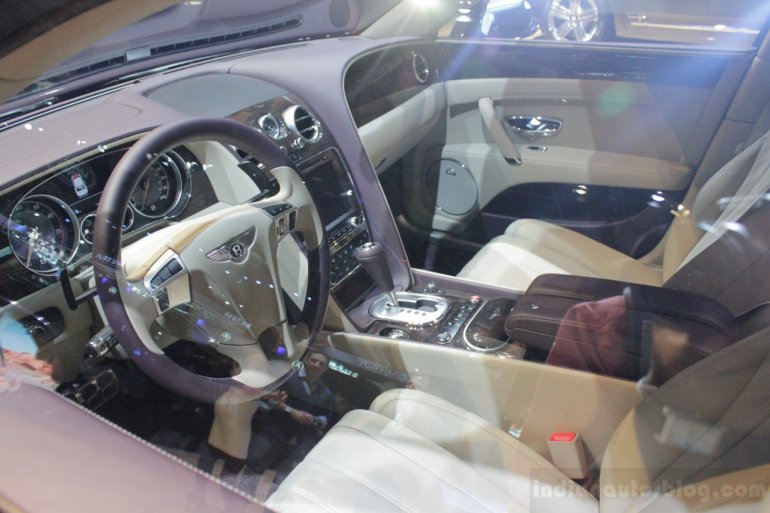 2014 Bentley Continental Flying Spur interior
