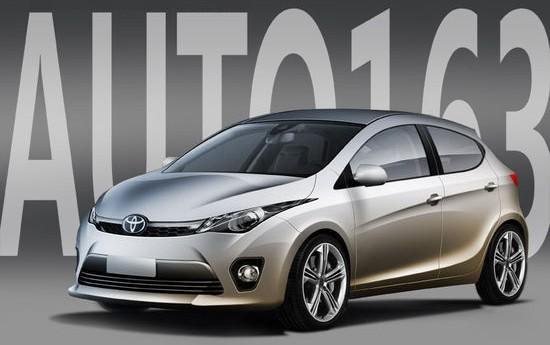 2014 Toyota Auris rendering front