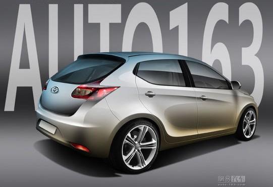 2014 Toyota Auris rendering rear