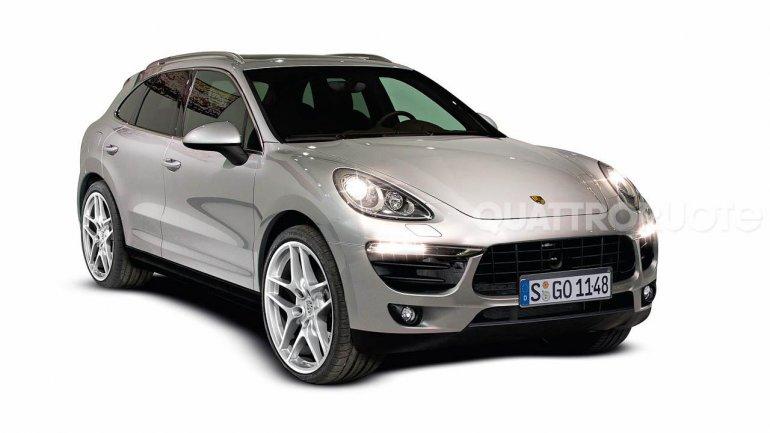 2015 Porsche Macan front
