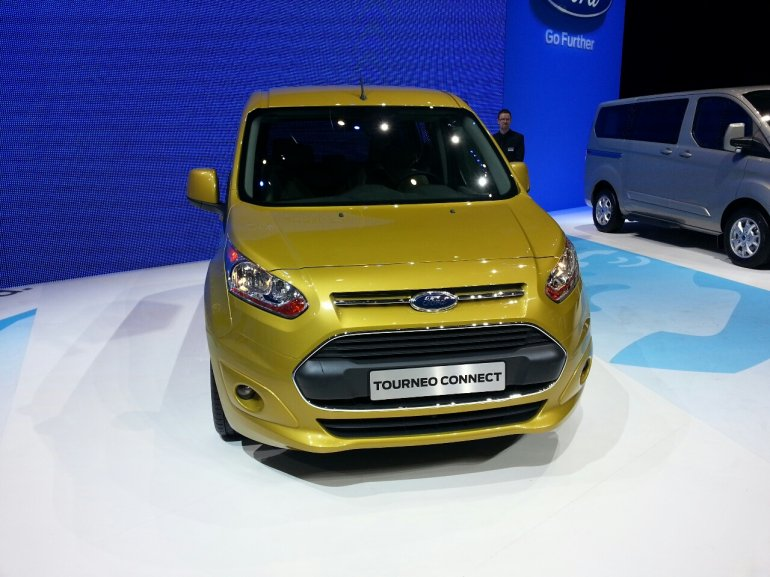 Ford Tourneo Connect Geneva Motor show live