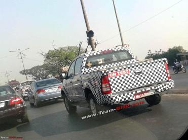 Foton Tunland pick-up india