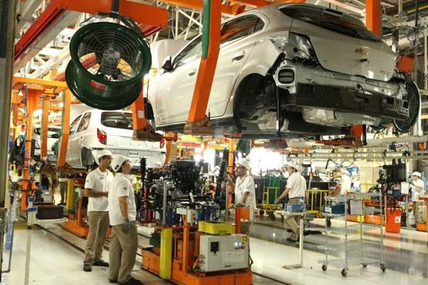 GM Brazil gravati plant
