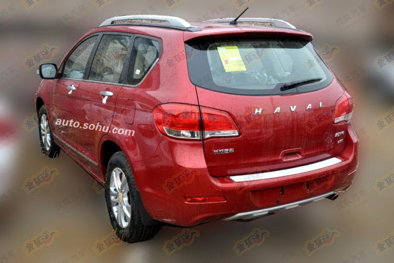 Haval H6 new badges rear