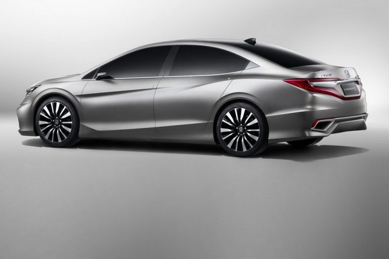 Honda Concept C rear