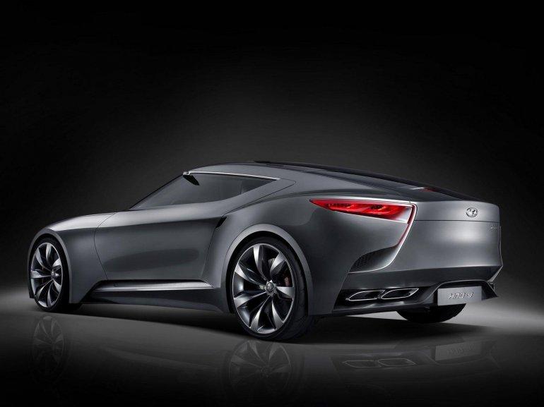 Hyundai HND-9 Concept rear quarter left doors closed