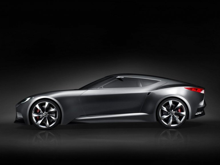 Hyundai HND-9 Concept side left