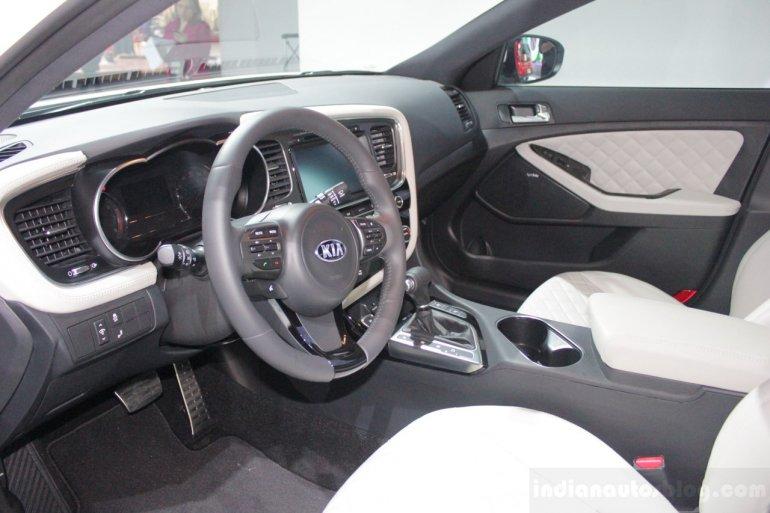 2014 Kia Optima dashboard