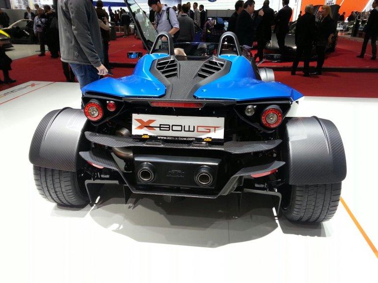 KTM X-Bow GT Geneva Motor Show rear