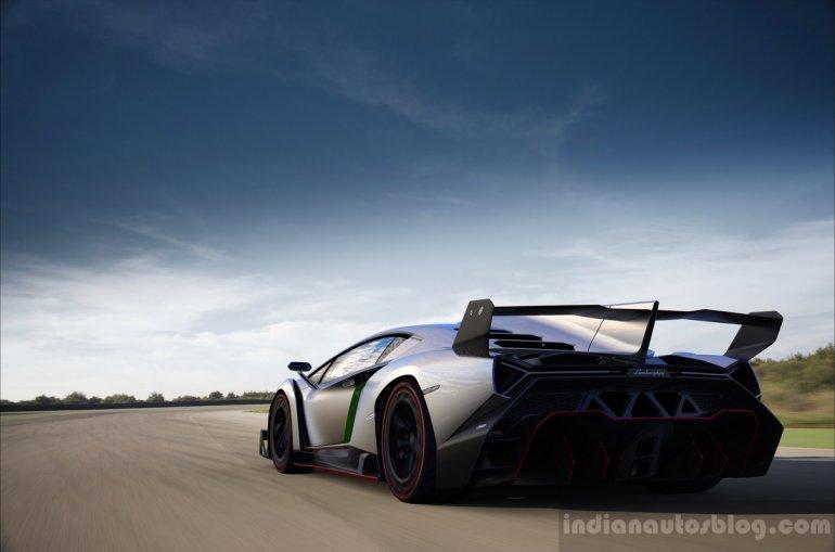 Lamborghini Veneno LP 750-4 rear